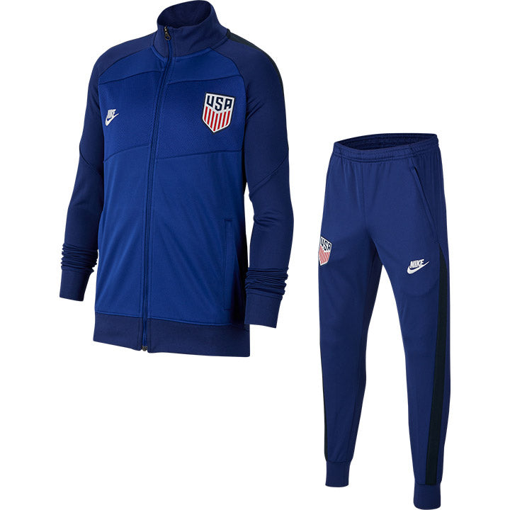 YOUTH NIKE CREST USA TRACK SUIT