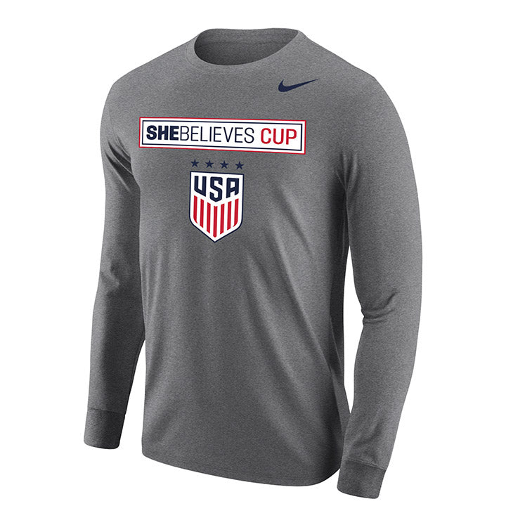 Nike WNT SBC Grey Long Sleeve Tee