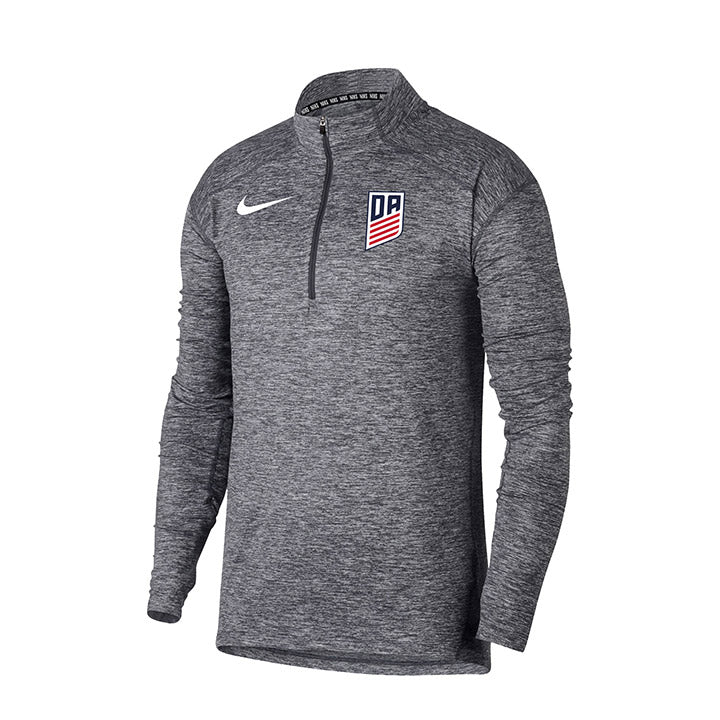 MEN'S NIKE DA HEATHER ELEMENT 1/4 ZIP TOP