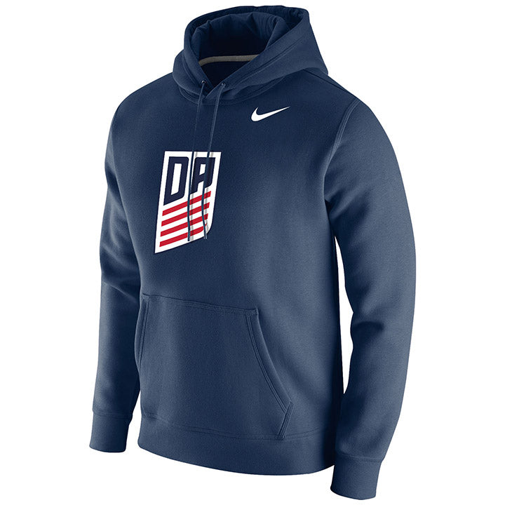 Nike DA Navy Club Fleece Hoody