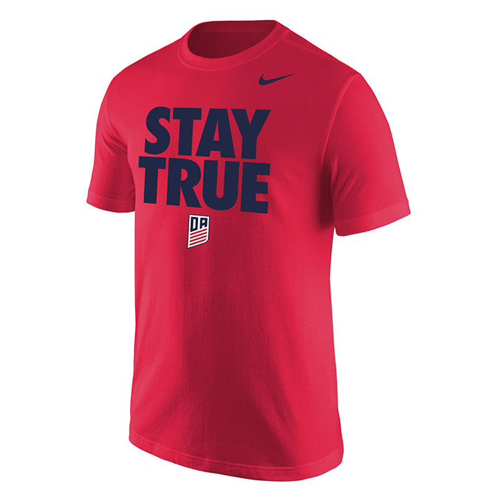MEN'S NIKE DA STAY TRUE SS TEE - RED