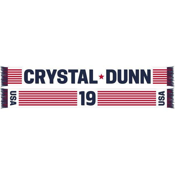 U.S. SOCCER UNITED STATES CRYSTAL DUNN 19 SCARF