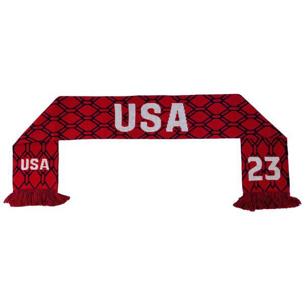 U.S. SOCCER UNITED STATES CHRISTEN PRESS 23 SCARF