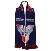 U.S. SOCCER USWNT STRIPED EAGLE HD KNIT SCARF