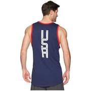 U.S. SOCCER MEN'S NIKE USA AMERICANA TANK TOP UNIVERSITY RED