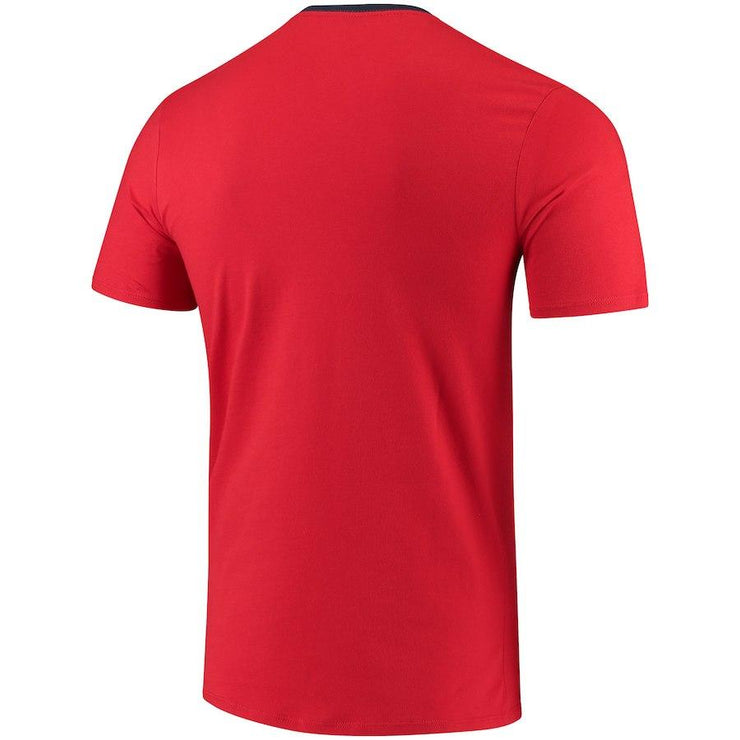 U.S. SOCCER MEN'S NIKE USA RINGER TEE UNIVERSITY RED