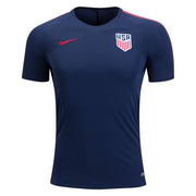 U.S. SOCCER MEN'S NIKE USA SQUAD TRAINING TOP MIDNIGHT NAVY