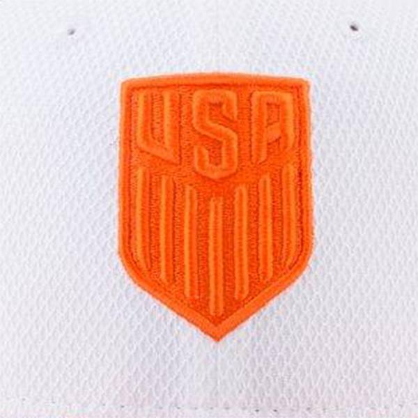 U.S. SOCCER NEW ERA FLORIDA 9FIFTY HAT WHITE ORANGE
