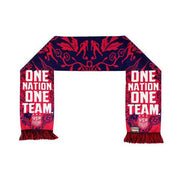 U.S. SOCCER ONE NATION ONE TEAM FLORAL SUMMER SCARF - NAVY