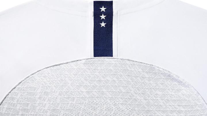 WOMEN'S NIKE USA VAPOR MATCH 3-STAR HOME JERSEY - WHITE