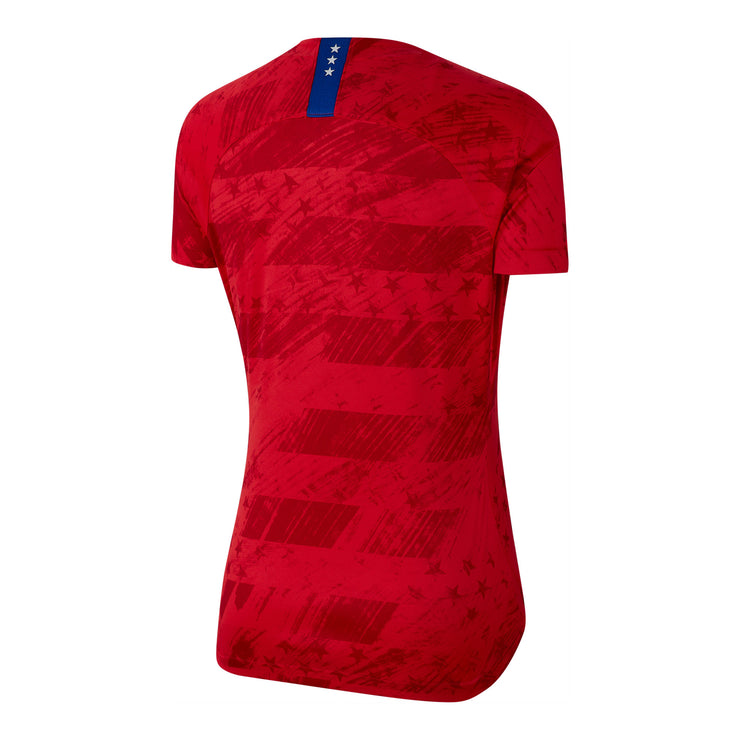 WOMEN'S NIKE USA WNT BREATHE 4-STAR STADIUM AWAY JERSEY - RED