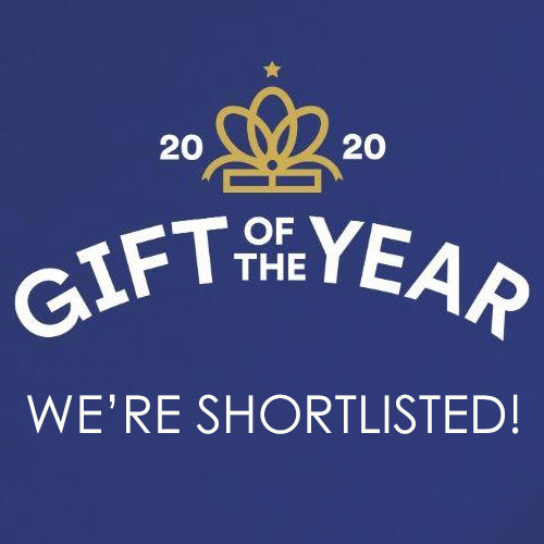 We're Shortlisted for a Gift of the Year Award!