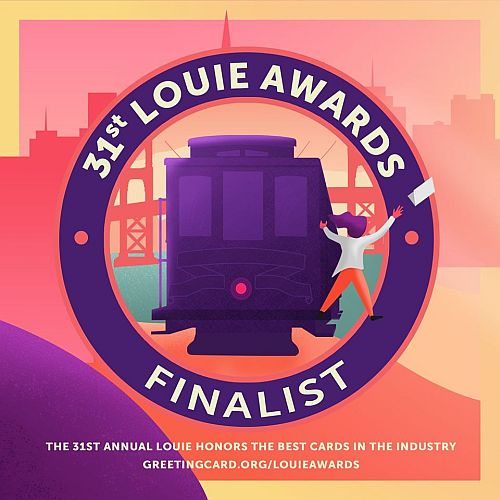 We are double Louie Awards finalists!