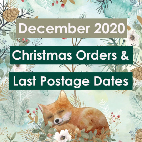 Important Dates for your Christmas Orders!