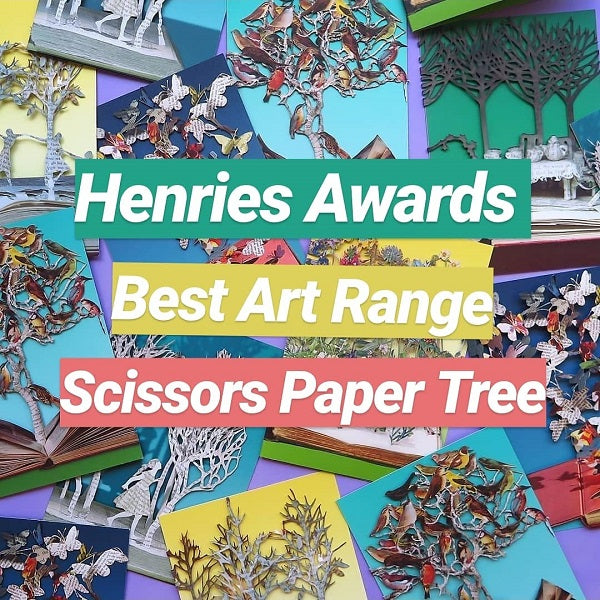 We won Best Art Range at the Henries Awards!