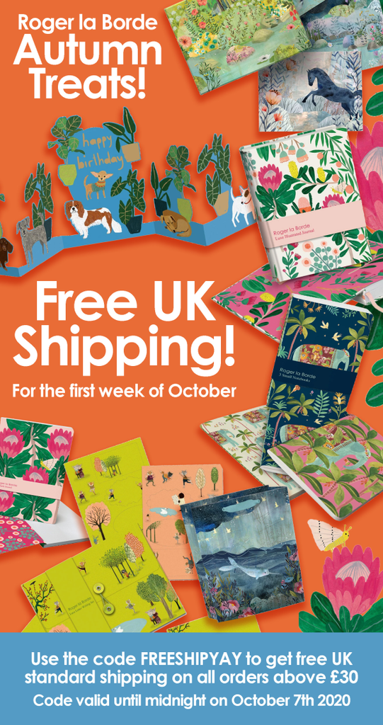 Free UK Shipping this week only!