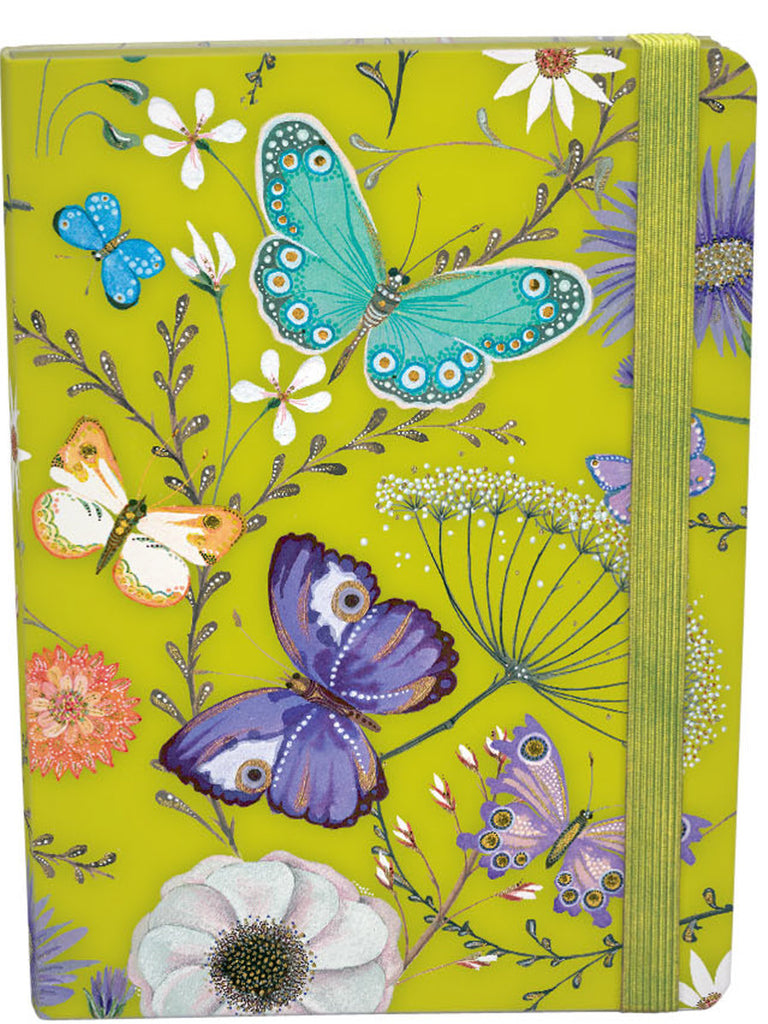 Roger la Borde Butterfly Ball A5 Journal with elastic featuring artwork by Jane Ray