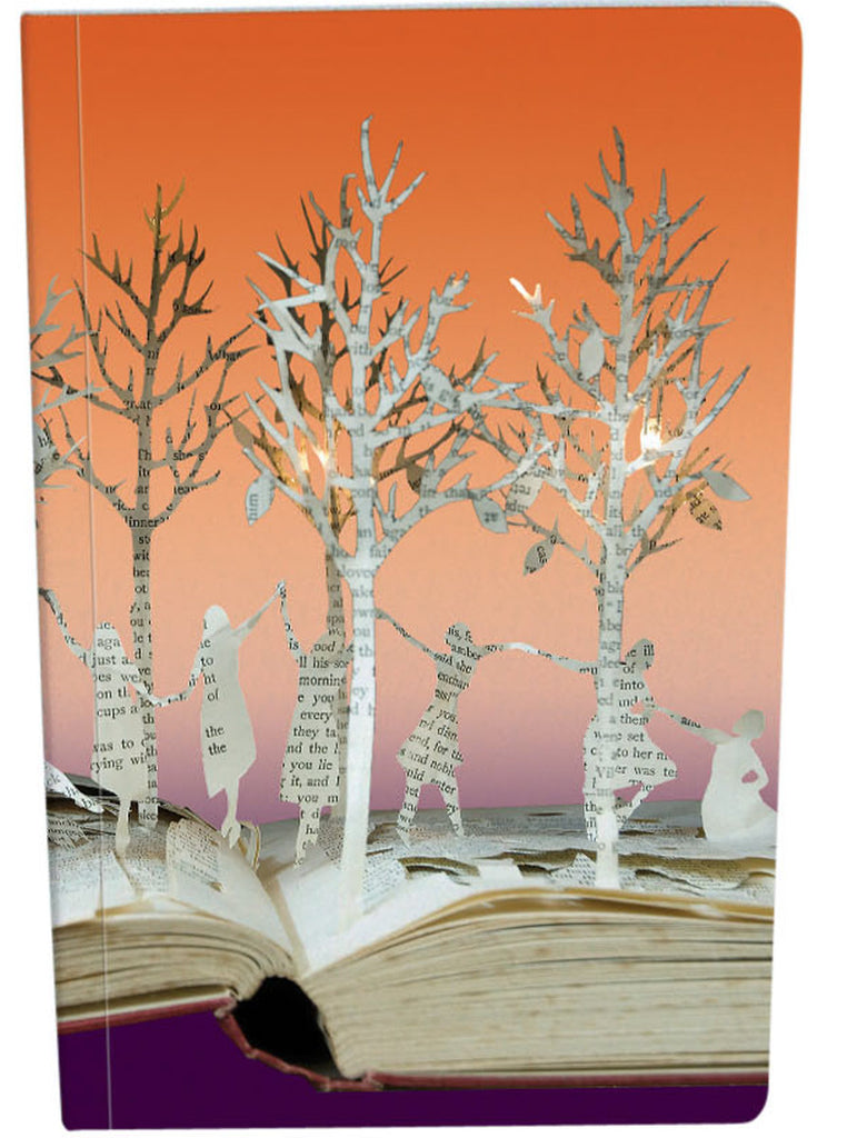 Roger la Borde Scissors Paper Tree Exercise Book featuring artwork by Su Blackwell