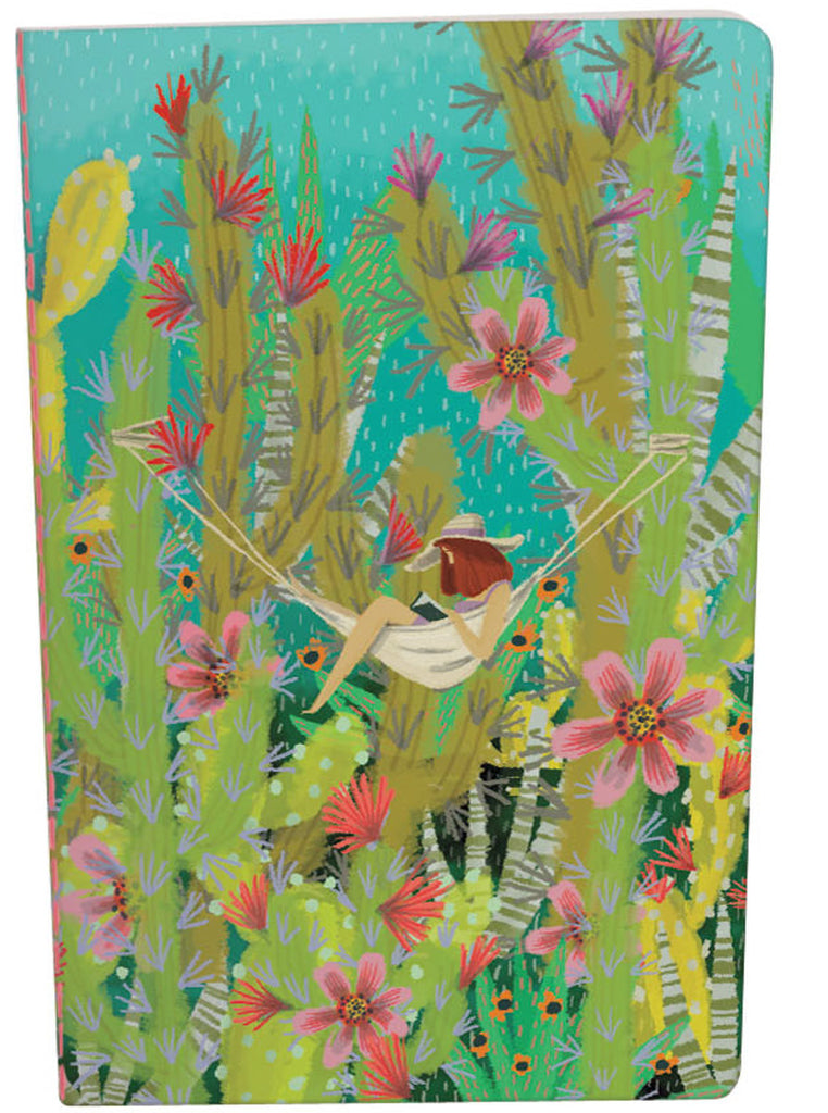 Roger la Borde Summertime A5 Exercise Book featuring artwork by Jane Newland