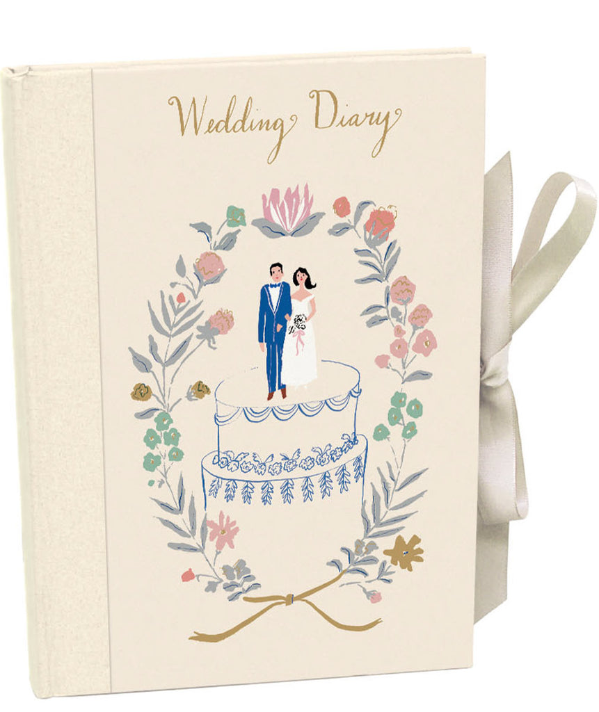 Roger la Borde Little House Illustrated Wedding Planner featuring artwork by Emily Isabella