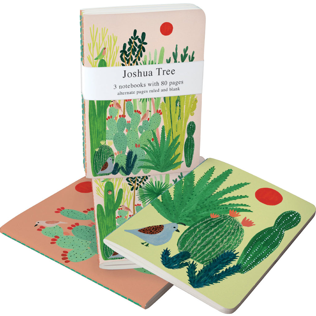 Roger la Borde Joshua Tree Exercise Books Bundle featuring artwork by Kate Pugsley