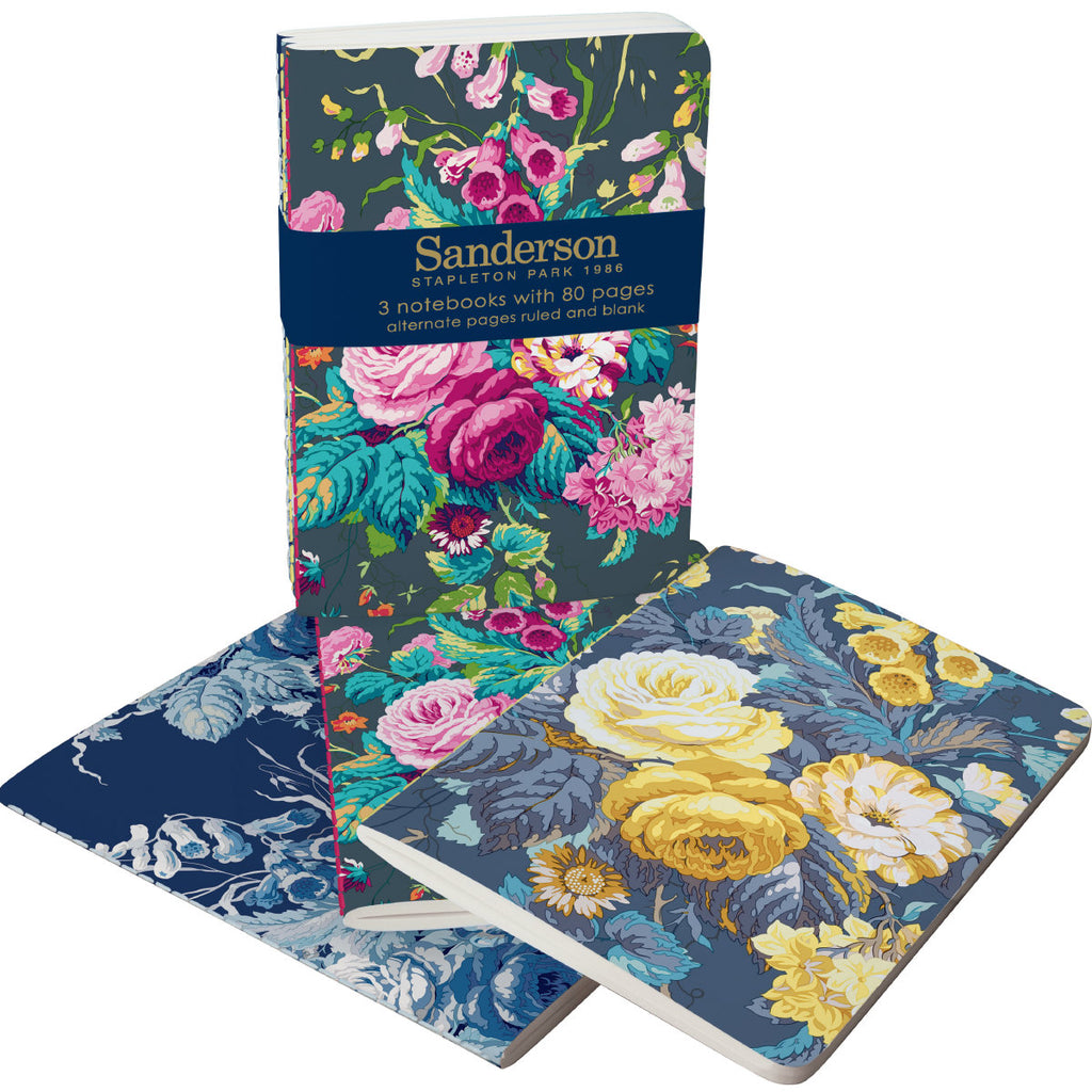 Roger la Borde Sanderson A6 Exercise Books Bundle featuring artwork by Sanderson