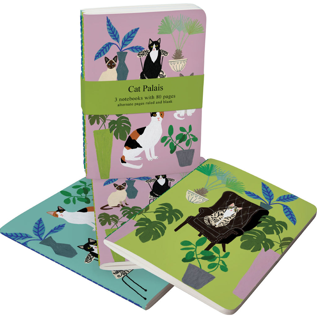 Roger la Borde Cat and Dog Palais A6 Exercise Books Bundle featuring artwork by Anne Bentley