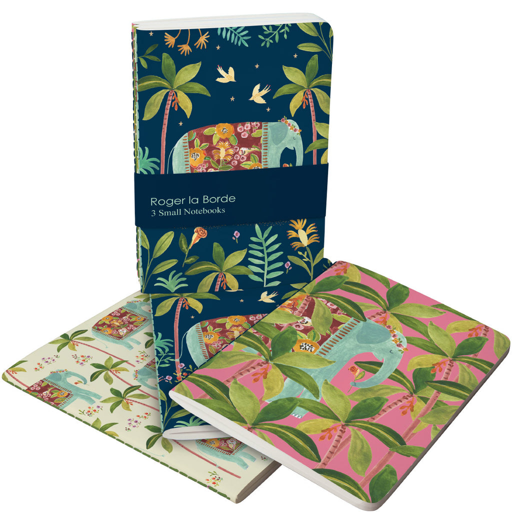 Roger la Borde Over the Rainbow A6 Exercise Books Bundle featuring artwork by Rosie Harbottle