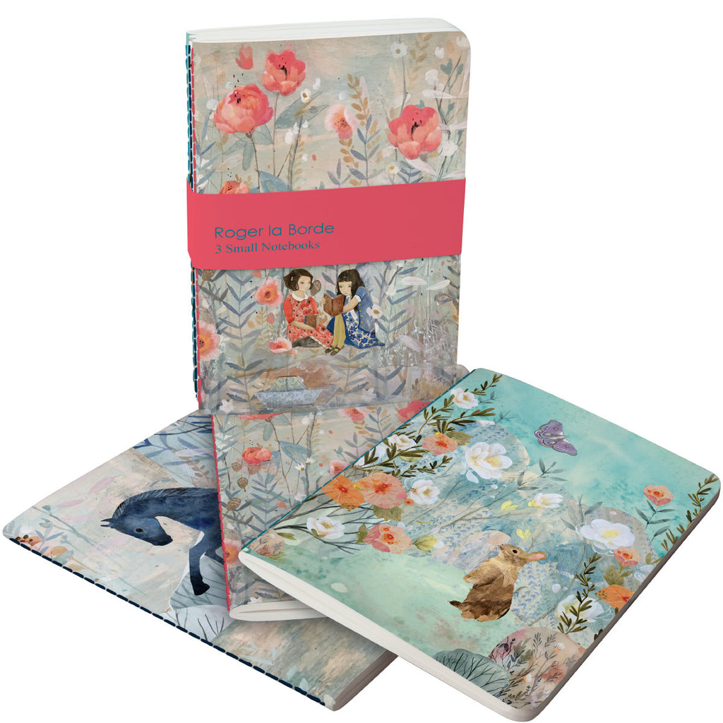 Roger la Borde Daydreamers A6 Exercise Books Bundle featuring artwork by Kendra Binney