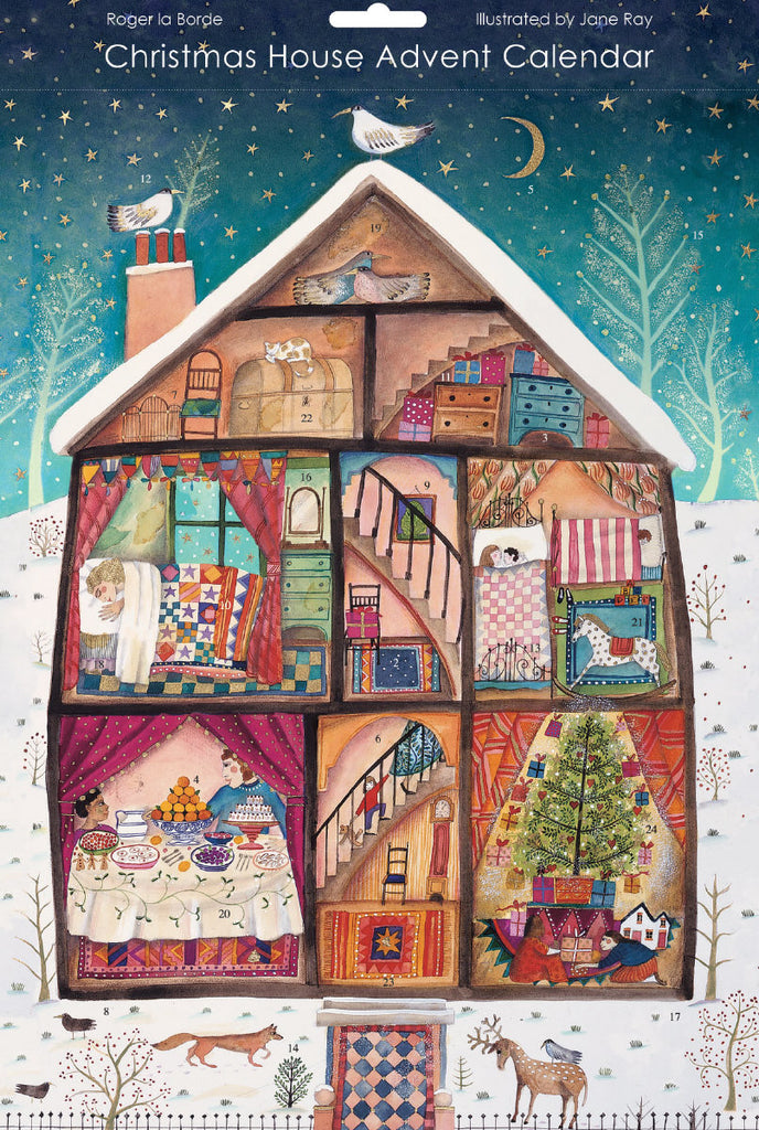 Roger la Borde Neighbours Advent Calendar featuring artwork by Jane Ray