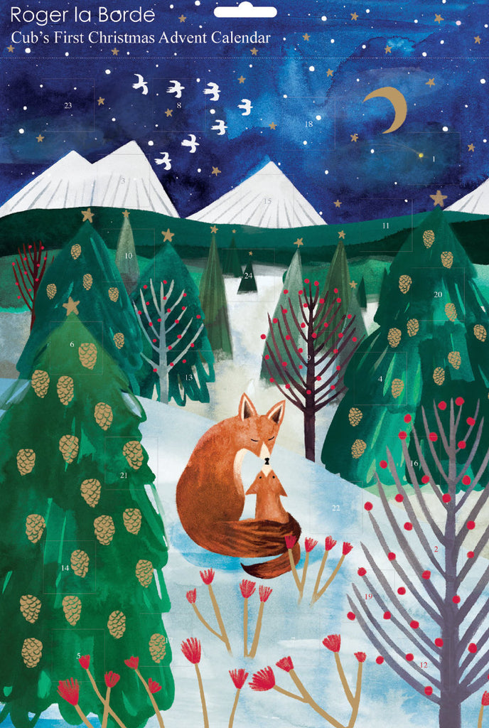 Roger la Borde Lodestar Advent Calendar featuring artwork by Katie Vernon