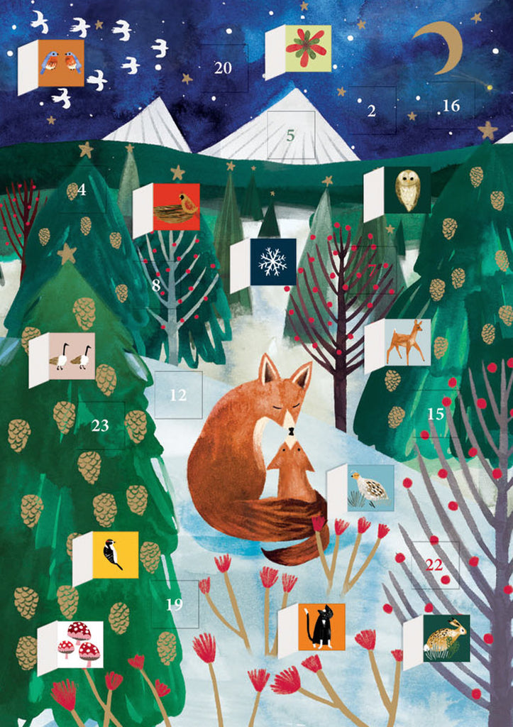 Roger la Borde Lodestar Advent Calendar Card featuring artwork by Katie Vernon