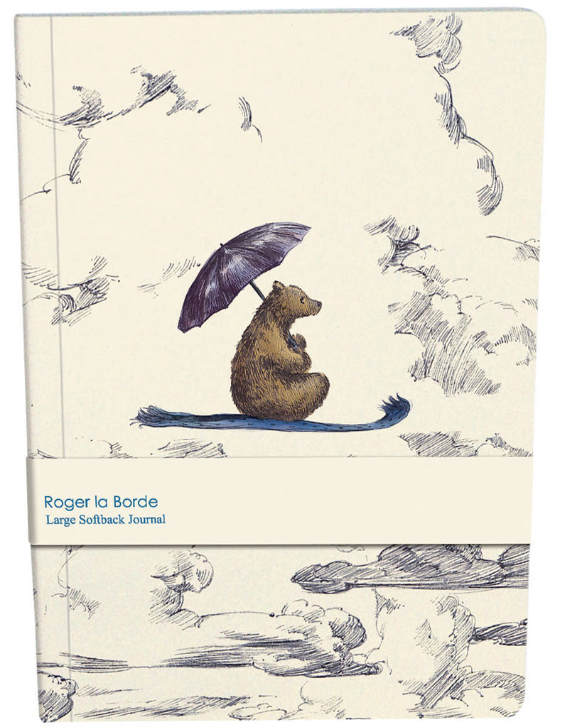 Roger la Borde Mondoodle Large Softback Journal featuring artwork by Elise Hurst