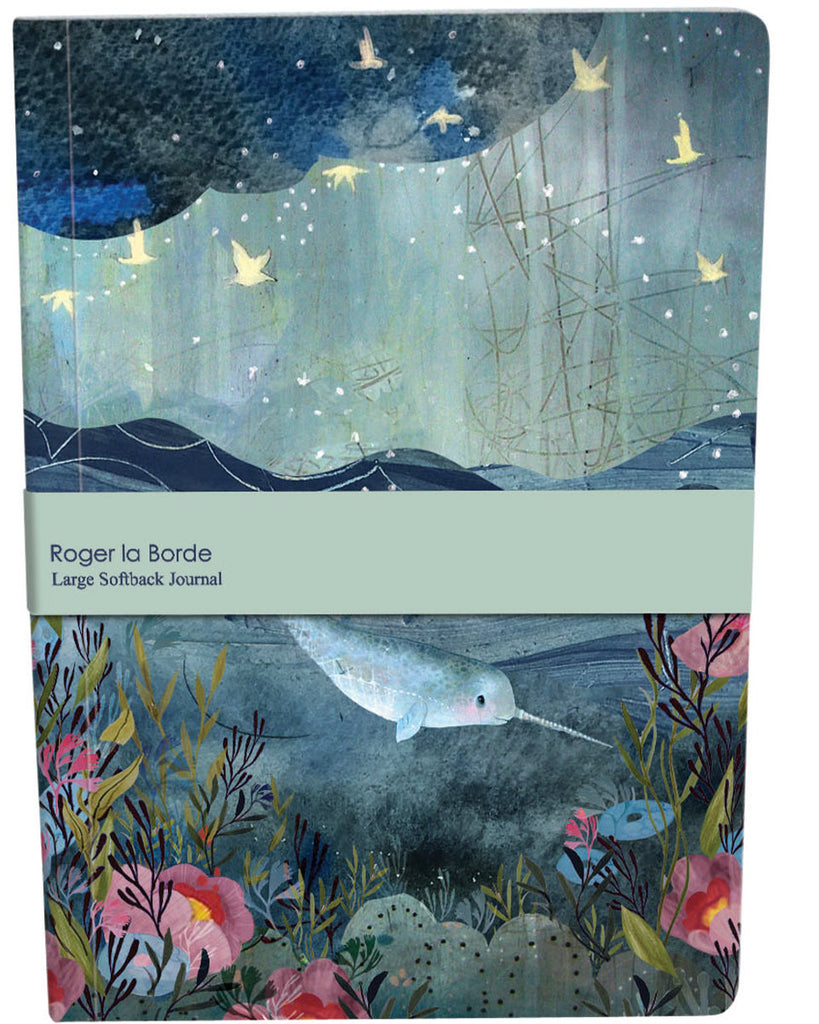 Roger la Borde Sea Dreams Large Softback Journal featuring artwork by Kendra Binney