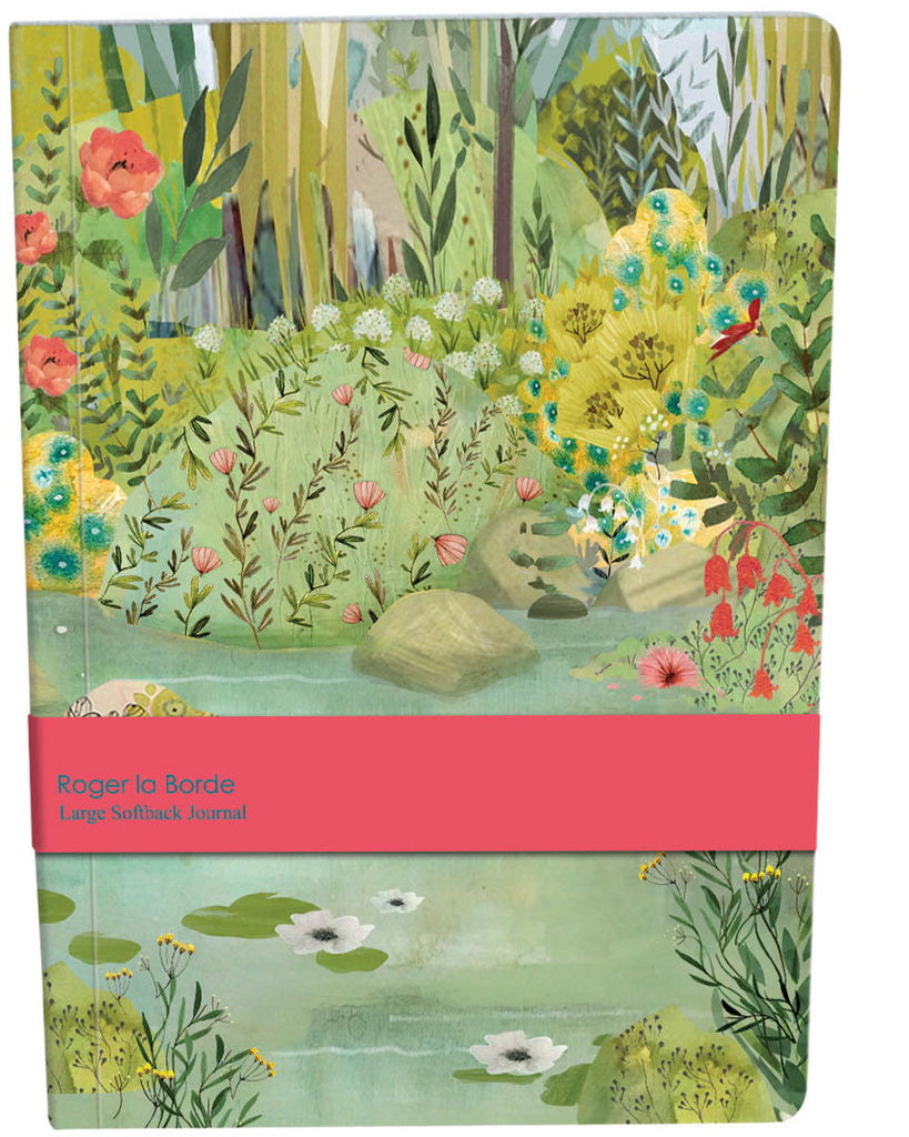 Roger la Borde Dreamland Large Softback Journal featuring artwork by Kendra Binney
