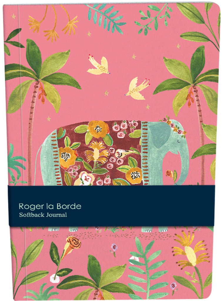 Roger la Borde Over the Rainbow A5 Softback Journal featuring artwork by Rosie Harbottle