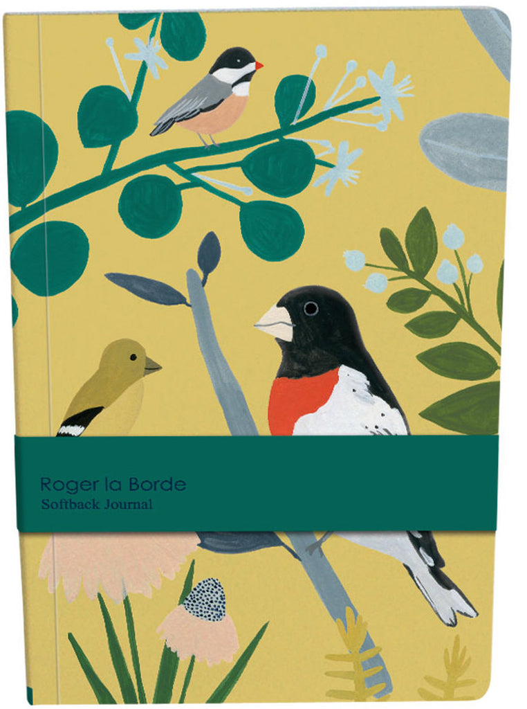 Roger la Borde Chicago School A5 Softback Journal featuring artwork by Kate Pugsley