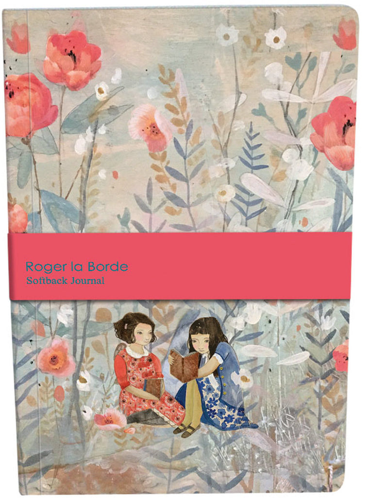 Roger la Borde Daydreamers A5 Softback Journal featuring artwork by Kendra Binney