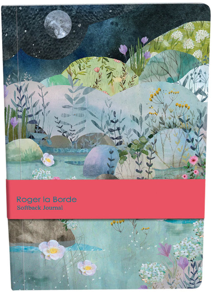 Roger la Borde Dreamland A5 Softback Journal featuring artwork by Kendra Binney