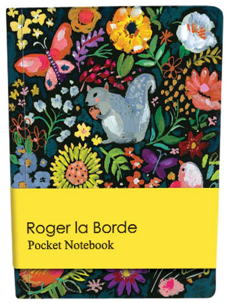 Roger la Borde Wild Batik Pocket Notebook featuring artwork by Jennifer Orkin Lewis