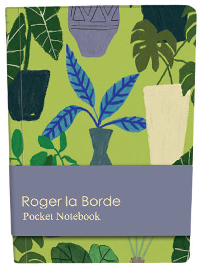 Roger la Borde Jungle Interior Pocket Notebook featuring artwork by Jennifer Orkin Lewis