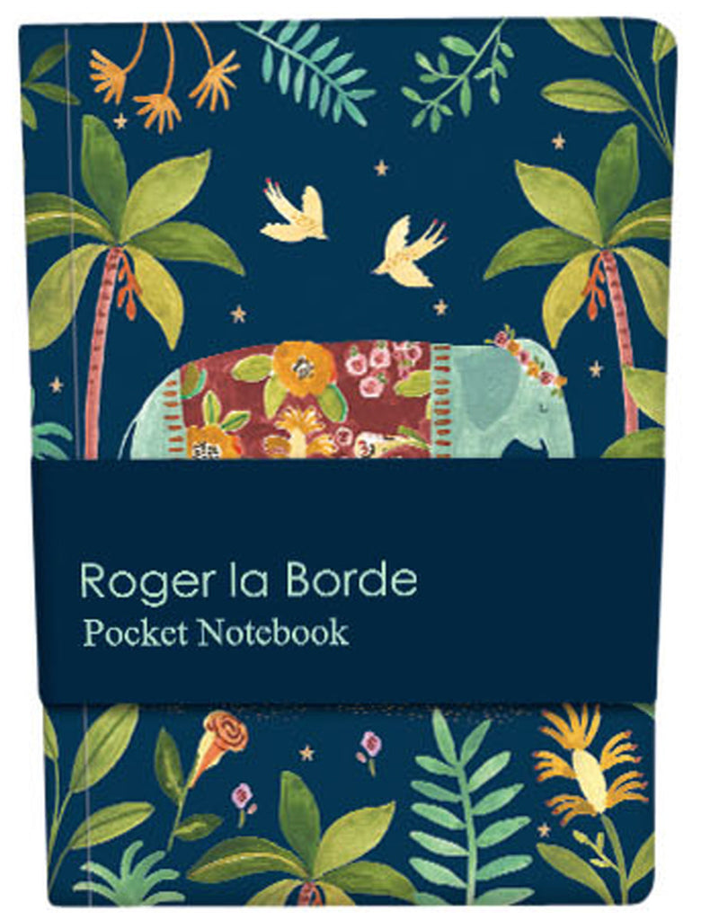 Roger la Borde Over the Rainbow Pocket Notebook featuring artwork by Rosie Harbottle