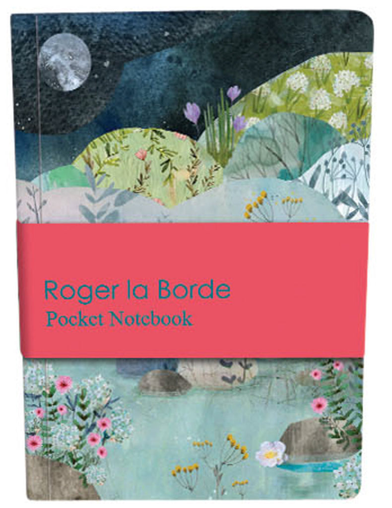 Roger la Borde Dreamland Pocket Notebook featuring artwork by Kendra Binney