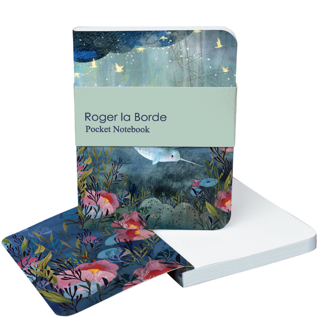 Roger la Borde Sea Dreams Pocket Notebook featuring artwork by Kendra Binney