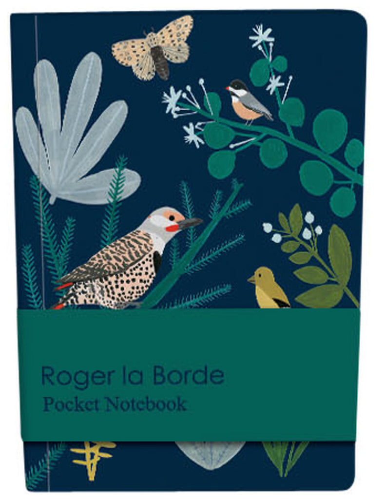 Roger la Borde Chicago School Pocket Notebook featuring artwork by Kate Pugsley