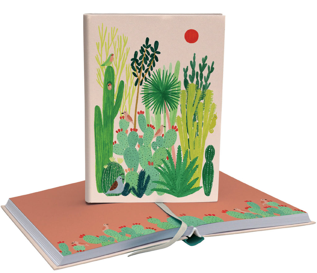 Roger la Borde Joshua Tree Softback Journal featuring artwork by Kate Pugsley