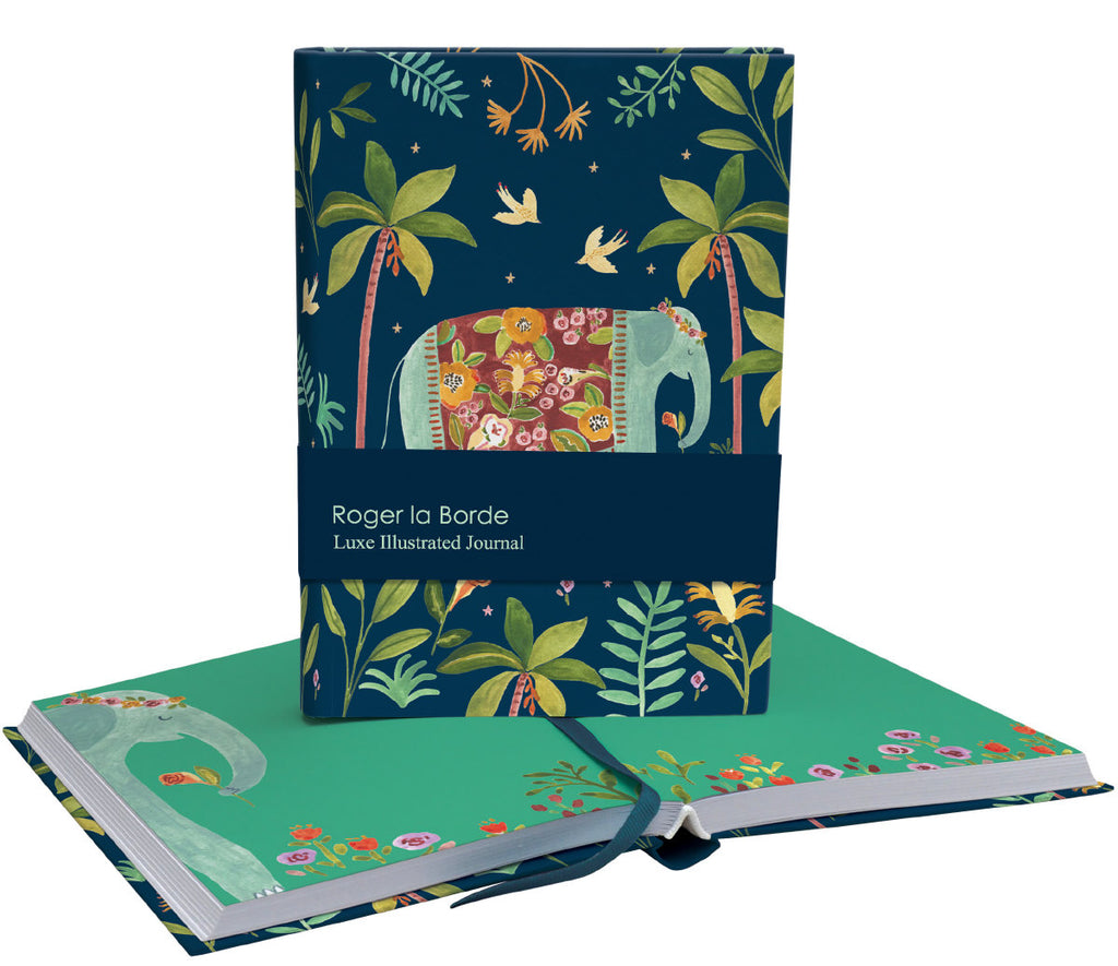 Roger la Borde Over the Rainbow Softback Journal featuring artwork by Rosie Harbottle