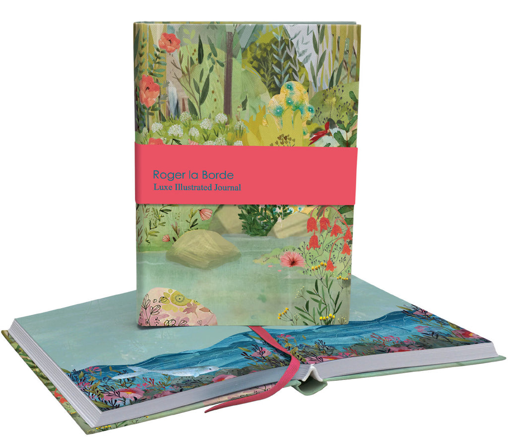 Roger la Borde Dreamland Softback Journal featuring artwork by Kendra Binney