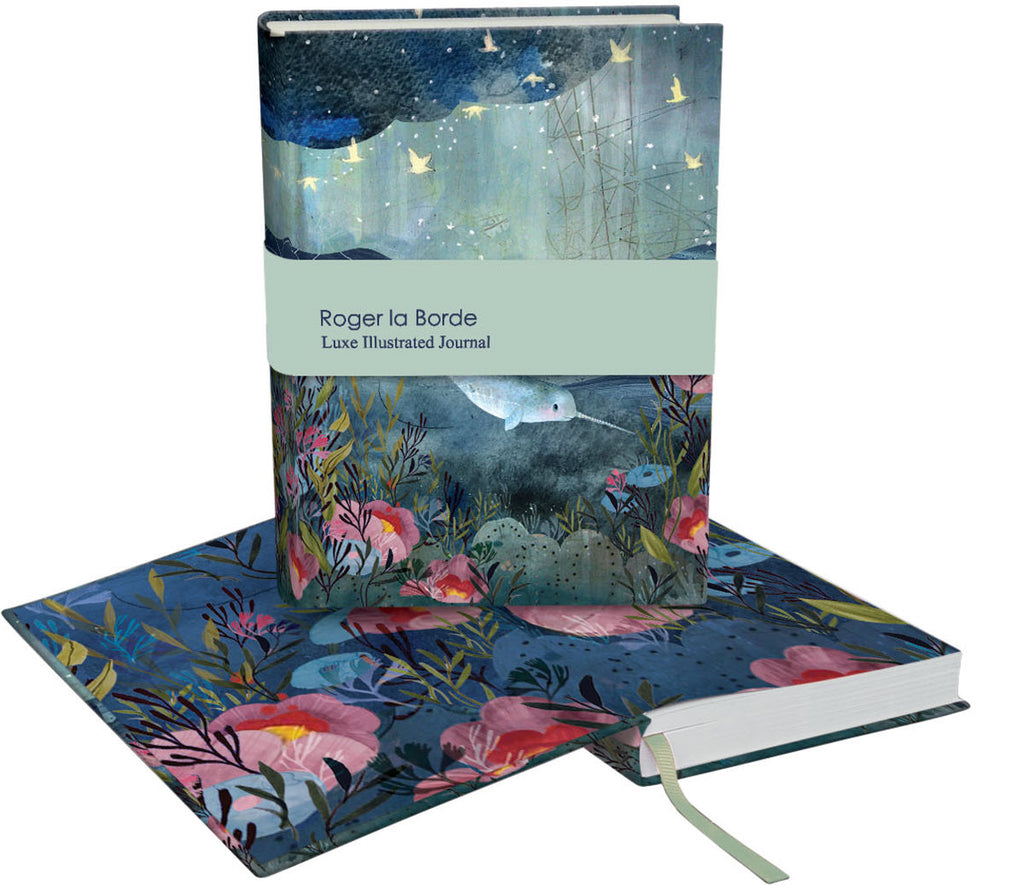 Roger la Borde Sea Dreams Softback Journal featuring artwork by Kendra Binney