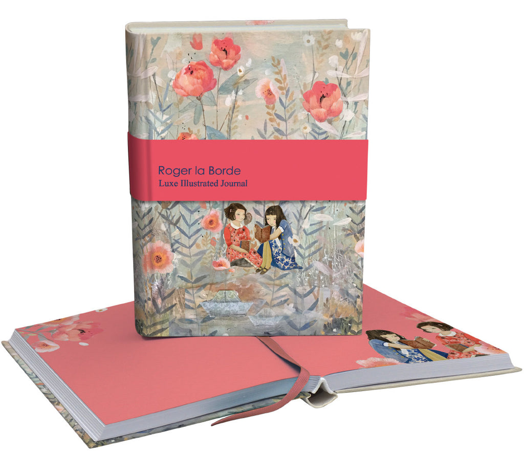 Roger la Borde Daydreamers Softback Journal featuring artwork by Kendra Binney